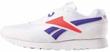Reebok Rapide - White Team Purple Neon Red