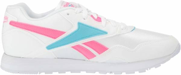 Reebok Rapide - White Solar Pink Neon Blue