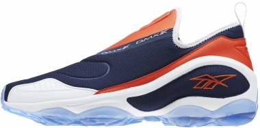 Reebok DMX Run 10 Slip - Collegiate Navy White Carotene