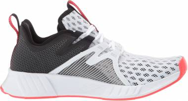 Reebok Fusium Run 2 - White Black Neon Red Silver
