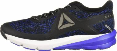 Reebok Grasse Road - Black/Acid Blue/Washed Blue/White/Pewter (CM8834)