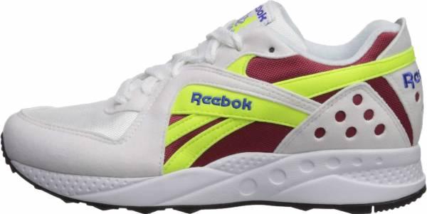 Reebok Pyro - White/Meteor Red/Neon Yellow/Crushed Cobalt/Black
