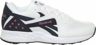 Reebok Pyro - White Night Navy Pink Fusion Black