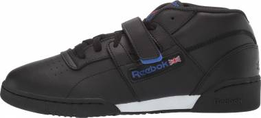 Reebok Workout Clean Mid Strap - Black/Crushed Colbalt/Primal Red/White