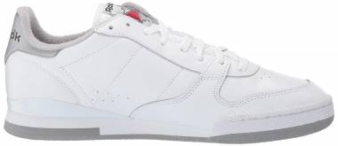 Reebok Phase 1 - White/Matte Silver/Tin Grey/Excellent Red