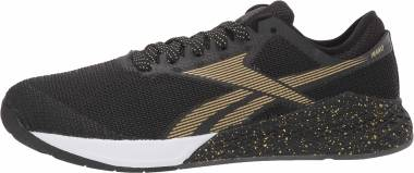 Reebok CrossFit Nano 9 - Black/White/Gold (FV4768)