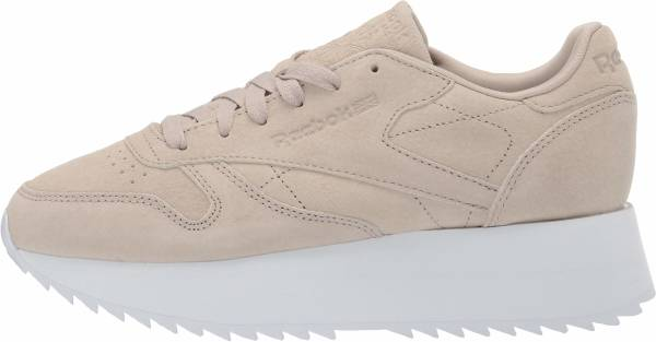 Reebok Classic Leather Double Light Sand/White
