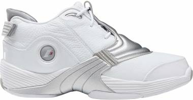 Reebok Answer V - White Matte Silver Black (DV6959)