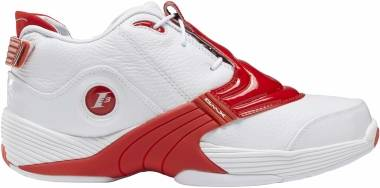 Reebok Answer V - Blanc Rouge Vif