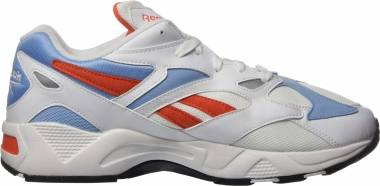 Reebok Aztrek 96 - White / Vivid Orange / Fluid Blue (EF3576)