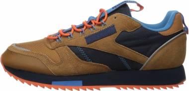Reebok Classic Leather Ripple Trail - Brown/Navy/Cyan (EG8707)