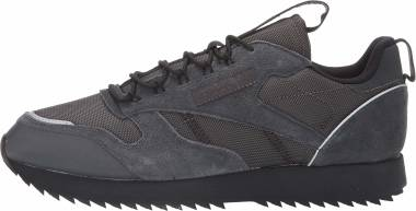Reebok Classic Leather Ripple Trail - Grey/Black/Panton (EG8708)