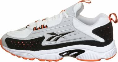 Reebok DMX Series 2200 - White / Vivid Orange / Pure Grey 2