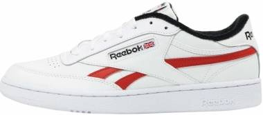 Reebok Club C Revenge - White / Black / Legacy Red
