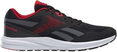 Reebok Runner 4 - Black / True Grey 7 / Excellent Red (EF7312)