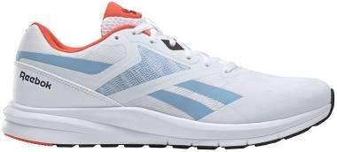 Reebok Runner 4 - White/Vivid Orange/Fluid Blue (EF7311)