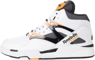 Reebok Pump Omni Zone II - Footwear White/Wild Orange/Black (G57540)