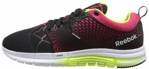 Reebok Zquick Dash woman black/blazing pink/white/solar yellow