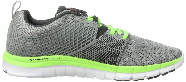 Reebok Zquick Dash men grey (flat grey/gravel/solar green/white)