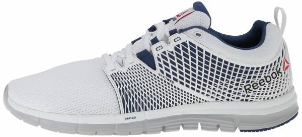 Reebok Zquick Dash men white/porcelain/steel/batik blue