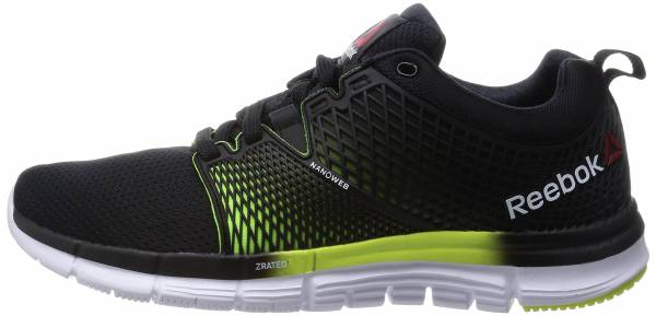 Reebok Zquick Dash woman schwarz (black/solar yellow/white-gp)