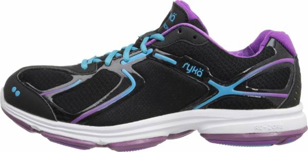Ryka Devotion Black/dark Purple/light Blue