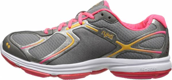 Ryka Devotion - Frost Grey/Metallic Steel Grey/Coral Rose/Orange Ice (D0018M1003)