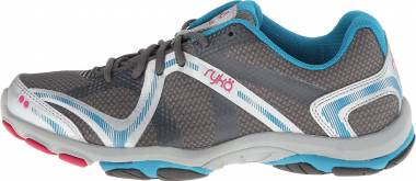 Ryka Influence - Steel Grey/Chrome Silver/Diver Blue/Zuma Pink (C8198M1VSF)
