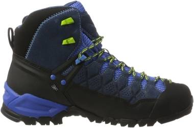 Salewa Alp Trainer Mid GTX - dark denim/cactus (63432361)