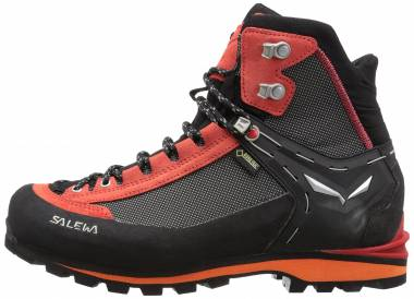 Salewa Crow GTX - Black/Papavero