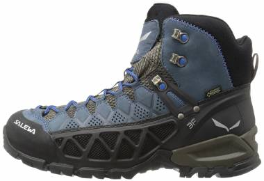 Salewa Alp Flow Mid GTX - Black Olive/Royal Blue (63424940)