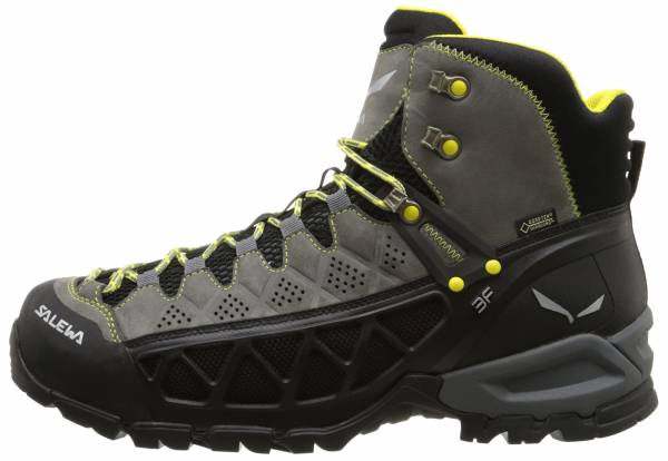 Salewa Alp Flow Mid GTX - Smoke/Yellow (634240682)