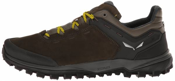 Salewa Wander Hiker Leather - Black Olive/Bergot