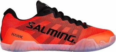 Salming Hawk - Black/Lava Red