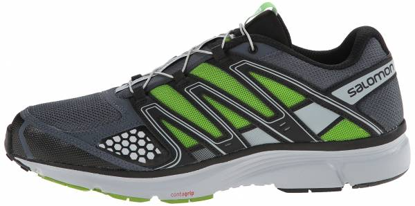 Salomon X Mission 2 - Grey Denim Light Onix Spring Green