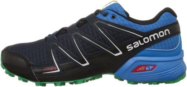 Salomon Speedcross Vario men deep blue/methyl blue/real green