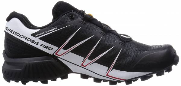 Salomon Speedcross Pro men black/white/bright red