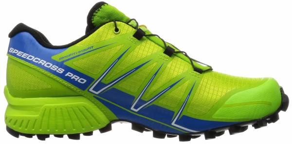 Salomon Speedcross Pro men multicolor (granny green/union blue/white)