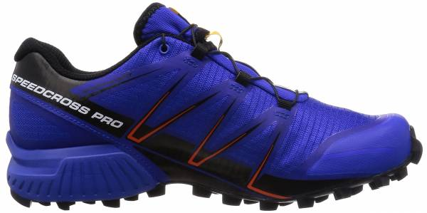 Salomon Speedcross Pro men cobalto/negro/rojo tomate