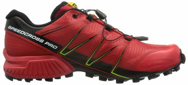 Salomon Speedcross Pro men multicolor (radiant red/black/gecko green)