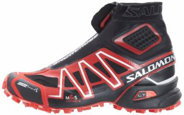 Salomon Snowcross CS - Black/Bright Red/Cane