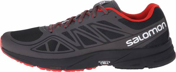 Salomon Sonic Aero men black/autobahn/radiant red