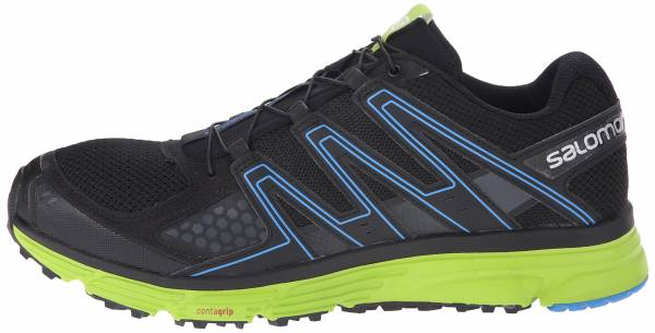 Salomon X-Mission 3 Black/Granny Green/Bright Blue