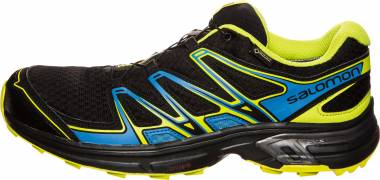 Salomon Wings Flyte 2 GTX - Black Bright Blue Gecko Green (L390301)
