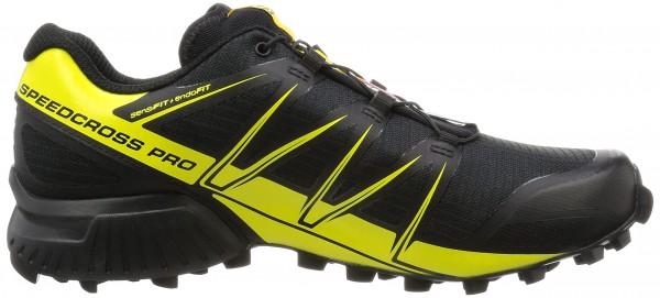 Salomon Speedcross 4 CS men black (black/black/corona yellow)