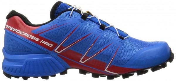Salomon Speedcross 4 CS men multicolore (bright blue/radiant red/black)