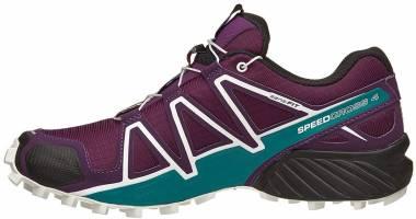 Salomon Speedcross 4 - Dark Purple/White/Deep Lake (L401361)