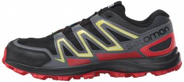 Salomon Speedtrak - Black/Radiant Red/Corona Yellow (L390624)