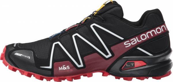 Salomon Spikecross 3 CS - Black / Radiant Red / White