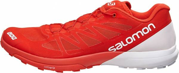 new concept cba85 8c4d9 Salomon S-Lab Sense 6 Racing Red, White, White